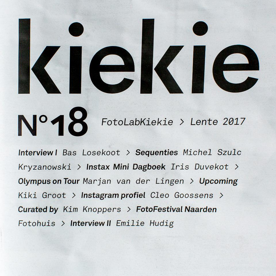 Marjan van der Lingen Publikatie Kiekie