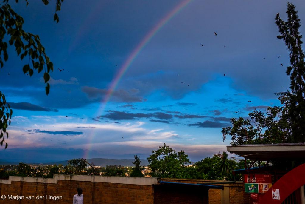 Rwanda, Afrika, regenboog ontwikkeling