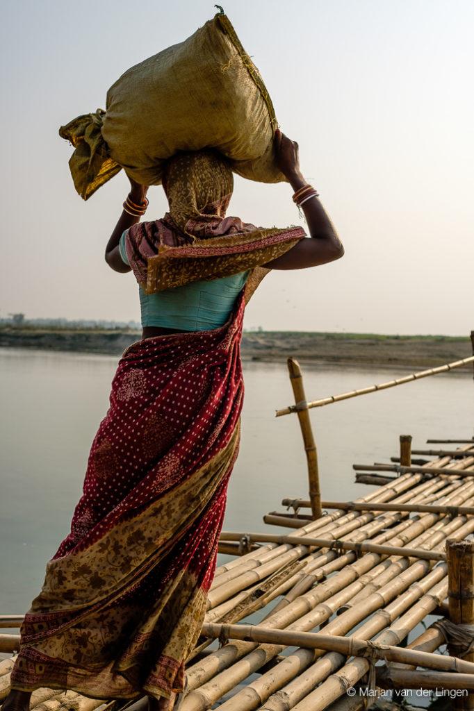 India, Marjan van der Lingen